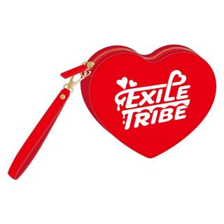EXILE TRIBE ハートポーチ