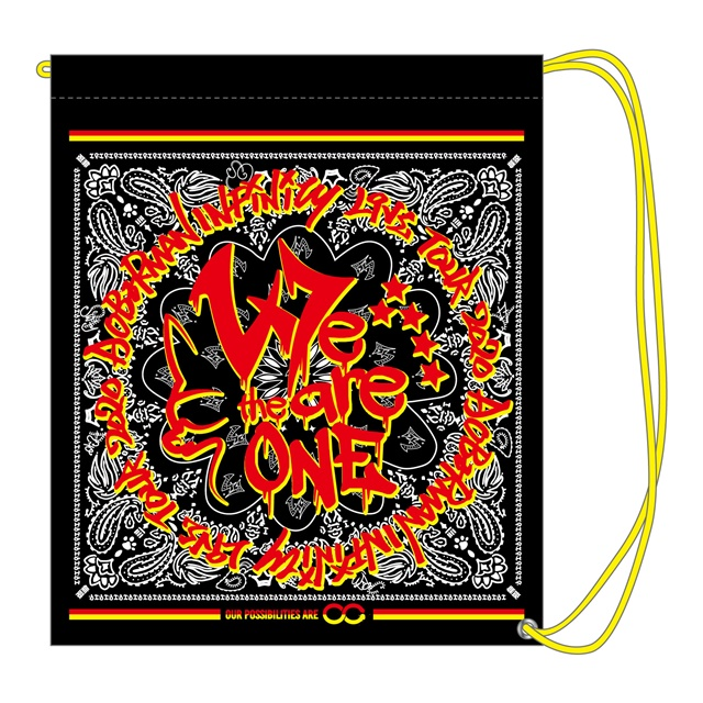 We are the one ビニールバッグ