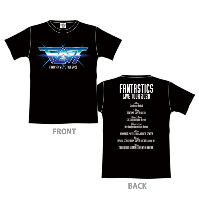 FNT ツアーTシャツ IMAGINATION BLACK
