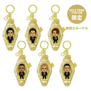 【ETS限定】EXILE THE SECOND PERFECT LIVE モーテルキーホルダー 全6種