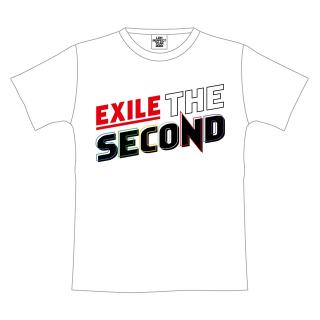 EXILE THE SECOND PERFECT LIVE ロゴTシャツ WHITE