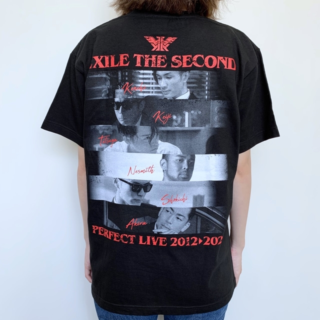 【ETS限定】EXILE THE SECOND PERFECT LIVE フォトTシャツ