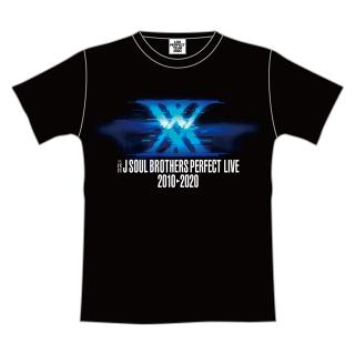 三代目 J SOUL BROTHERS PERFECT LIVE ツアーTシャツ IMAGINATION BLACK