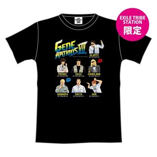 【ETS限定】GENERATIONS PERFECT LIVE キャラクターTシャツ