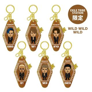 【ETS限定】EXILE THE SECOND PERFECT LIVE モーテルキーホルダー WILD WILD WILD 全6種
