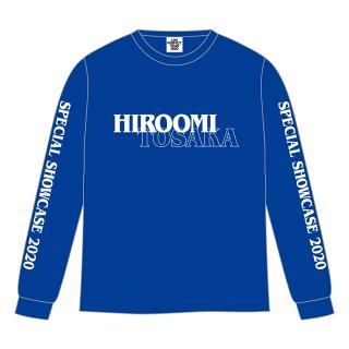 SPECIAL SHOWCASE HIROOMI TOSAKA ロングスリーブTシャツ