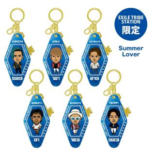 【ETS限定】EXILE THE SECOND PERFECT LIVE モーテルキーホルダー Summer Lover 全6種