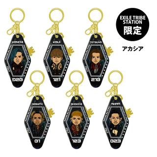 【ETS限定】EXILE THE SECOND PERFECT LIVE モーテルキーホルダー アカシア 全6種