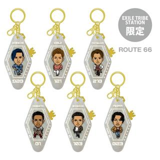 【ETS限定】EXILE THE SECOND PERFECT LIVE モーテルキーホルダー ROUTE 66 全6種