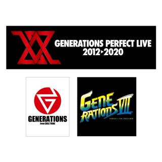 GENERATIONS PERFECT LIVE ステッカー3枚セット