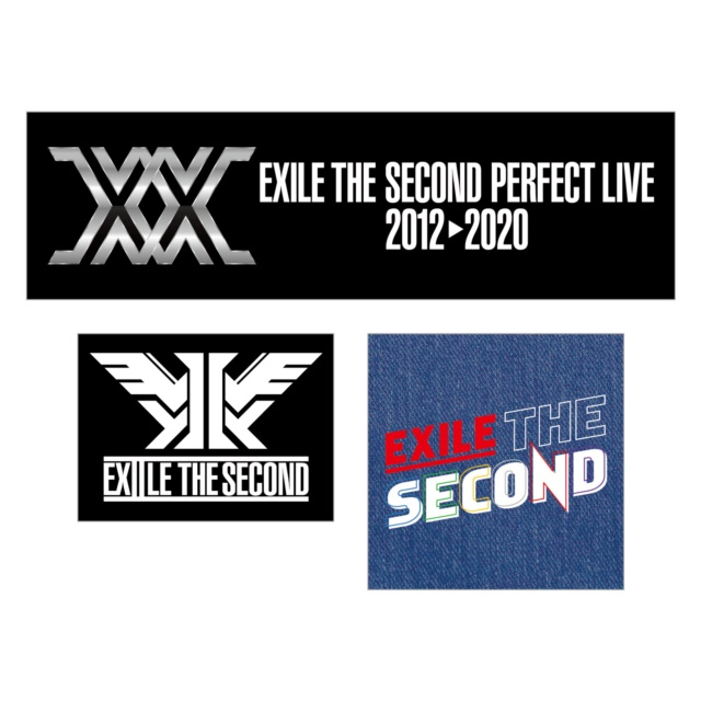 EXILE THE SECOND PERFECT LIVE ステッカー3枚セット