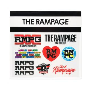 SOCIAL DISTANCE クリアステッカー THE RAMPAGE
