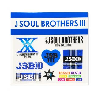 SOCIAL DISTANCE クリアステッカー 三代目 J SOUL BROTHERS
