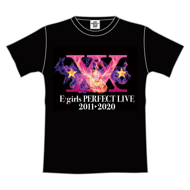 E-girls PERFECT LIVE ツアーTシャツ IGNITION